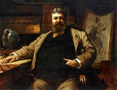 Henry Hobson Richardson (painting by Hubert Von Herkomer, 1886)