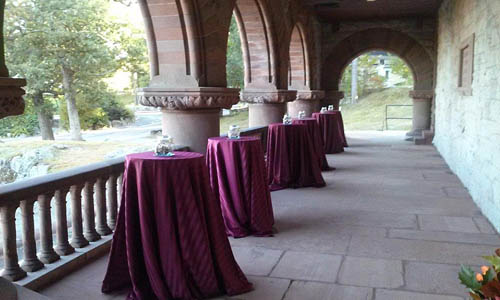 Ames Oakes Hall Loggia Outdoor Hall