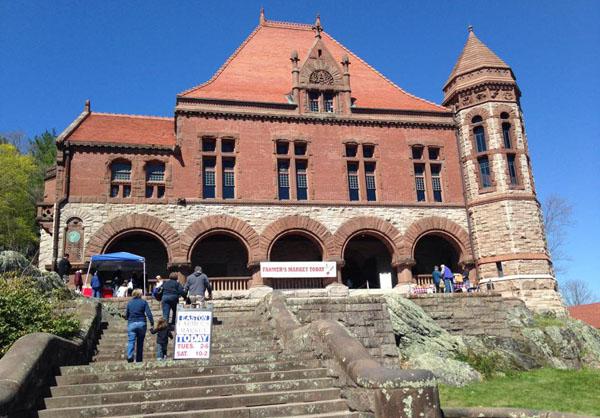 Original Easton Farmers Market at the Oakes Ames Memorial Hall